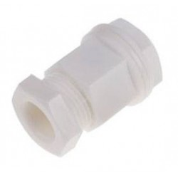 White cable gland M20