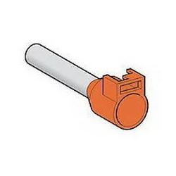 Cable end 4mm2 orange long...