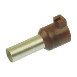 Cable end 10mm2 brown