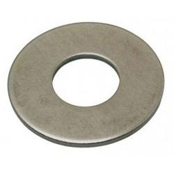 M6 flat zinc washer size L