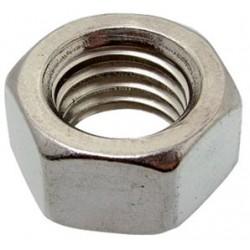 US nut HU 3/8-16 UNC zinc