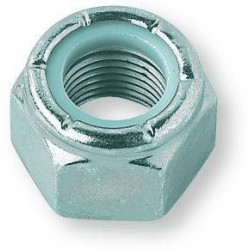 Locking nut 3/8-16 UNC Zinc