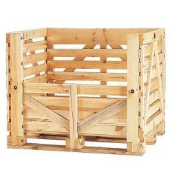Wooden pallet box...
