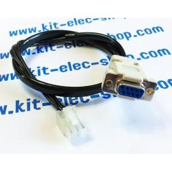 Câble CAN connecteur MOLEX...