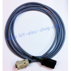 Câble CAN connecteur DELPHI...