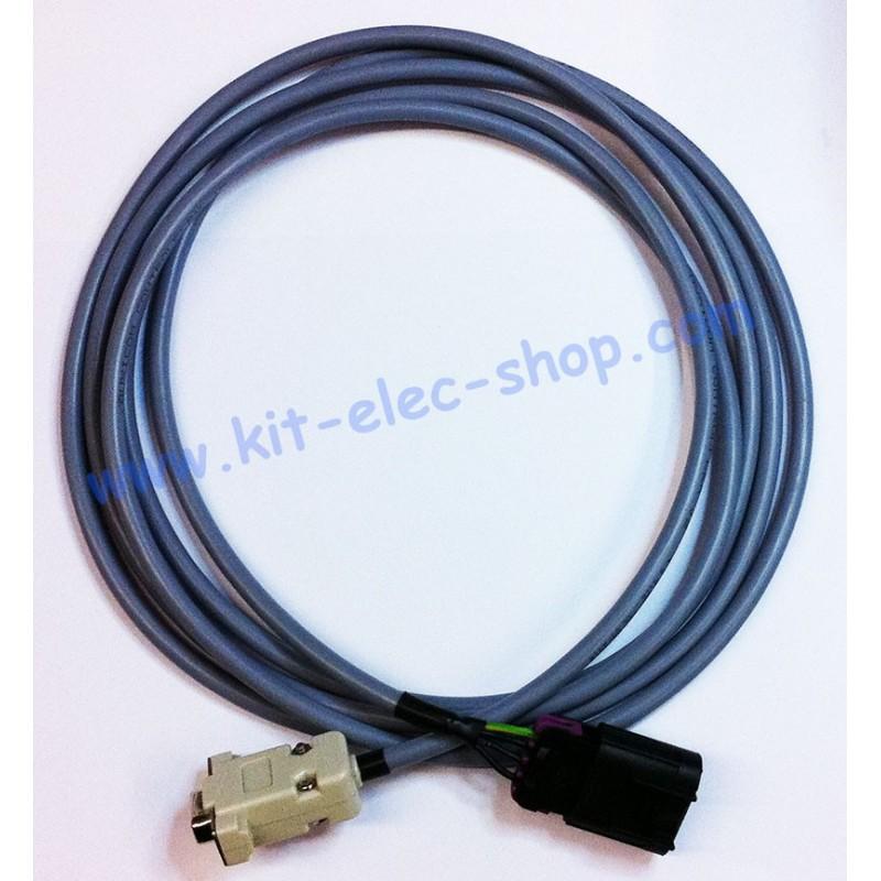 Câble Can Connecteur Delphi Mâle Vers Db9 Femelle
