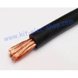 Câble 16mm2 souple noir HO1...