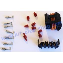 8 pins DELPHI female kit...