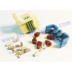 5 pins DELPHI female kit...