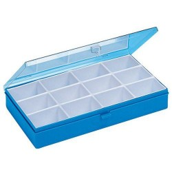 Box compartmented 12 boxes
