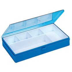 Box compartmented 6 boxes
