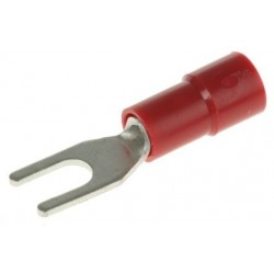 Red Insulated fork lug L3mm...