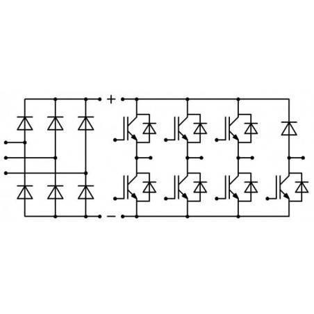 Three-phase educational inverter SEMITEACH
