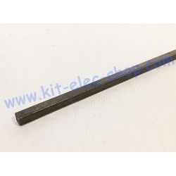 Key of 6.35mmx6.35mm L500mm