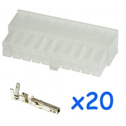 MOLEX male 20 pin connector...