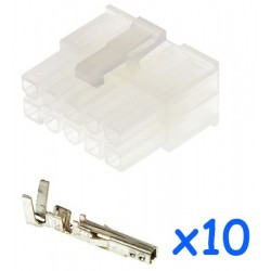 MOLEX male 10 pin connector...
