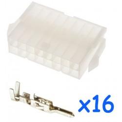 Connecteur MOLEX femelle 16...