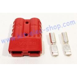 Connecteur SB50 rouge 24V...