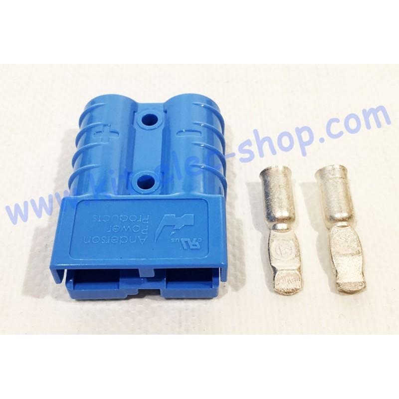 Connecteur Sb50 Bleu 48v Pour Câble De 16mm2
