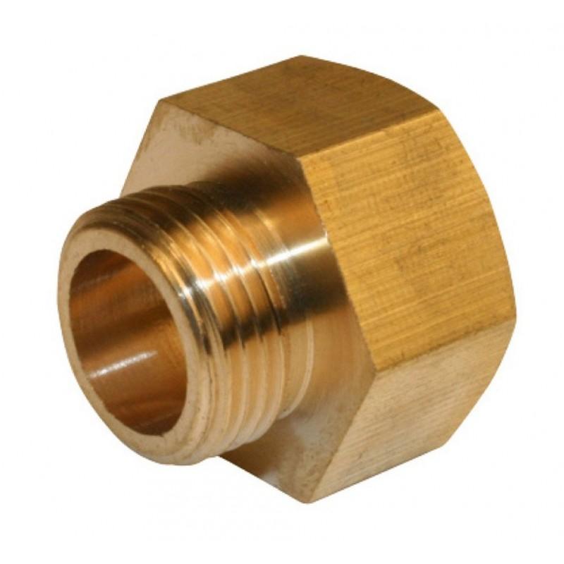 Brass Straight Fitting G12 To G38