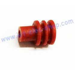 Dark Red Cable Isolators...