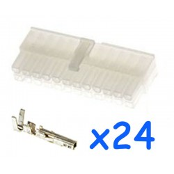 MOLEX male 24 pin connector...