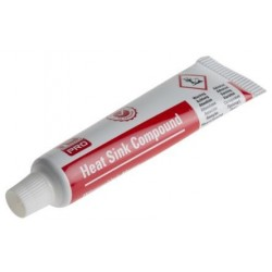 White thermal grease