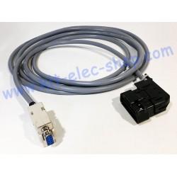Câble CAN connecteur OBD2...