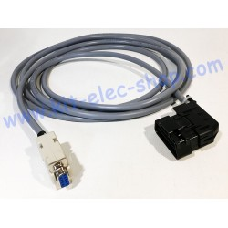 CAN cable OBD2 male...