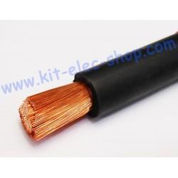 Câble 70mm2 souple noir HO1...
