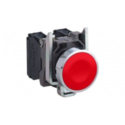 Red push button 1 NC...
