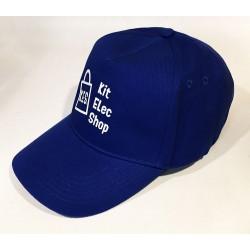 Royal blue cap Kit Elec Shop