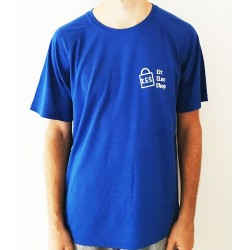 T-shirt bleu royal...