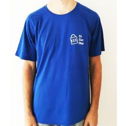 T-shirt bleu royal...
