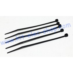 Set of 5 cable ties black...