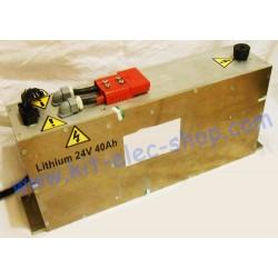 Lithium battery 24V 40Ah...