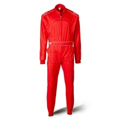 Red go-kart suit DAYTONA...
