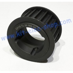 Poulie HTD 30mm 22 dents...
