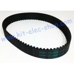 Courroie HTD 640-8M-30 TEXROPE