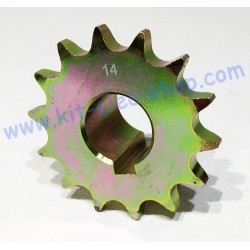 14-tooth sprocket for chain...