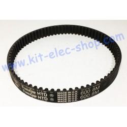 HTD belt 600-8M-20 second hand