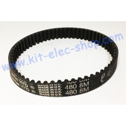 HTD belt 480-8M-20 second hand