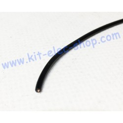 Black flexible 0.75mm2...
