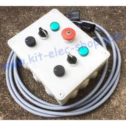 Dual control box for 2...