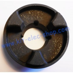Plate for elastic coupling...