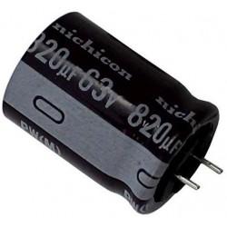 Condensateur NICHICON 820uF...