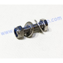 Pack bolt TH M6x25 and...