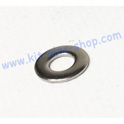 Flat washer M6 stainless...