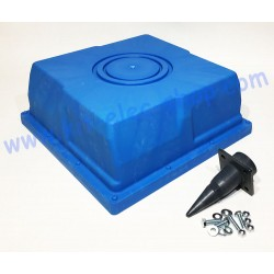 Water box for hydroelectric...