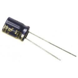 Condensateur 220uF 25V...